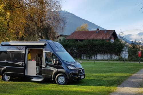 Hire a motorhome in München from private owners  Knaus Max