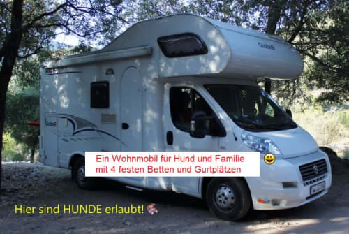 Hire a motorhome in Ludwigsburg from private owners| Dethleffs Womili