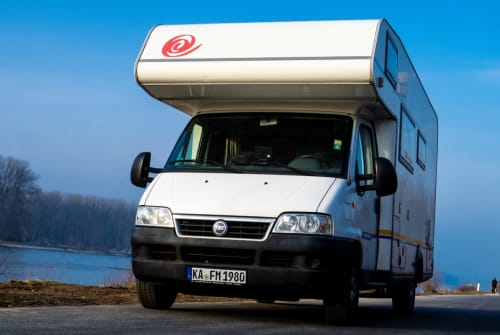 Hire a motorhome in Karlsbad from private owners| Eura Mobil Matos Mobil