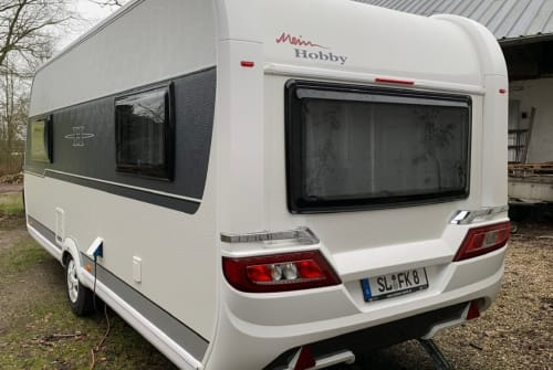 Hire a motorhome in Wanderup from private owners| Hobby Bjarne