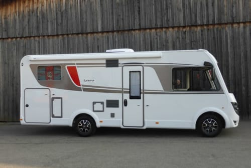 Hire a motorhome in Heppenheim from private owners| Bürstner Lyseo