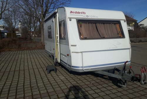 Hire a motorhome in Kempten from private owners| Dethlefs Paul