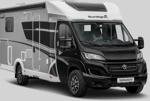 Hire a motorhome in Langballig from private owners| Sunlight Luxuscamper