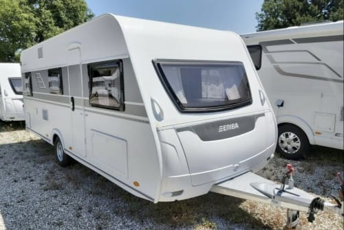 Hire a motorhome in Bad Aibling from private owners| Eriba Traumschiff