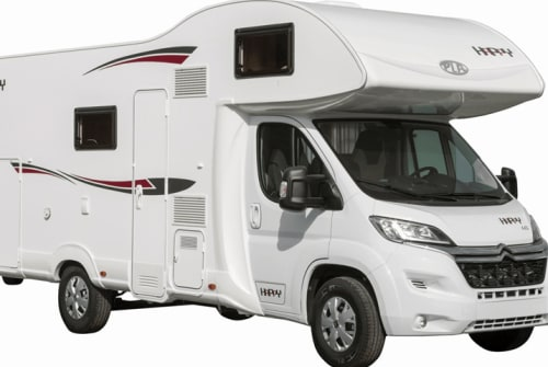 Hire a motorhome in Haßfurt from private owners| PLA Happy 440