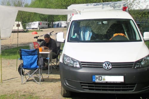 Hire a motorhome in Schriesheim from private owners  VW Caddy