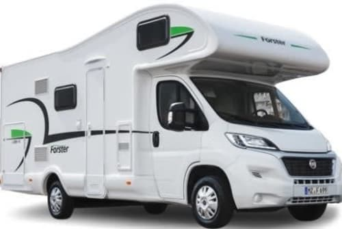 Hire a motorhome in Unterhaching from private owners  Forster Rando