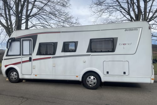 Hire a motorhome in Lörrach from private owners| Dethleffs  Balu