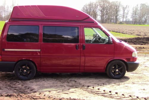 Hire a motorhome in Sassenberg from private owners| VW T4 2,5 TDI Grisu