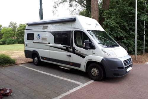 Hire a motorhome in Krefeld from private owners  Knaus Rudi