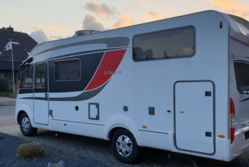 Hire a motorhome in Brüggen from private owners| Bürstner Unsere Mupfel