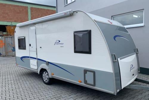 Hire a motorhome in Ladenburg from private owners  Bürstner Bürstner