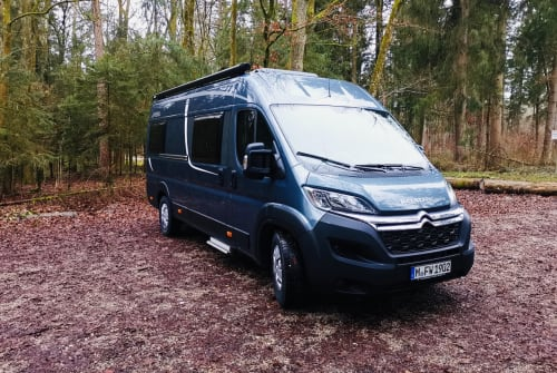 Hire a motorhome in München from private owners| Pössl Nina