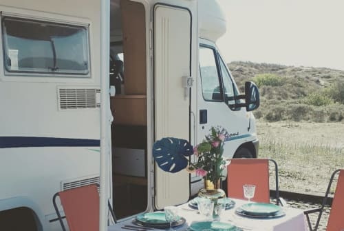 Hire a motorhome in Haarlem from private owners  Fiat Happy Camper 2