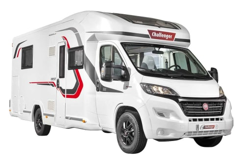 Hire a motorhome in Heitersheim from private owners  Challanger Charte DC1234