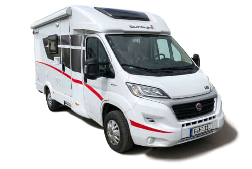 Hire a motorhome in Bad Tabarz from private owners  Sunlight Sunlight T58