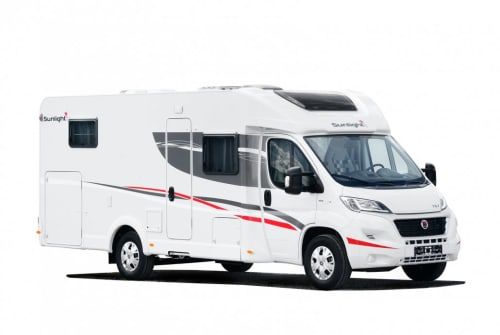 Hire a motorhome in Bad Tabarz from private owners  Sunlight Sunlight T67