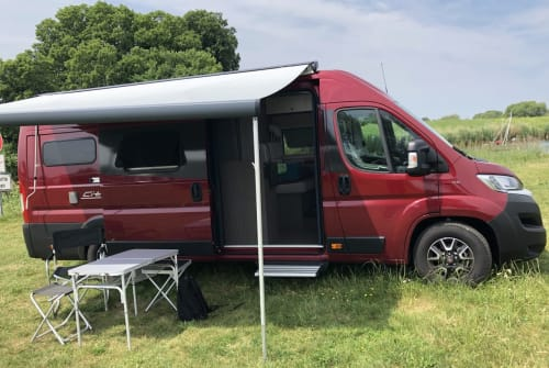 Hire a motorhome in Bonn from private owners| Bürstner Froh