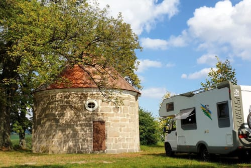 Hire a motorhome in Kirchzell from private owners| Knaus WHATABEAR