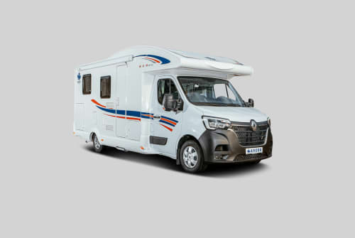 Hire a motorhome in Walldürn from private owners| Ahorn Joel