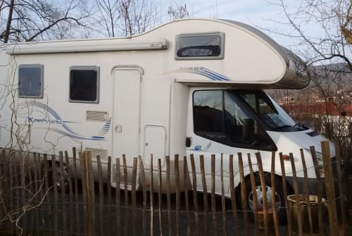Hire a motorhome in Witzenhausen from private owners  Ford Ford Rimor