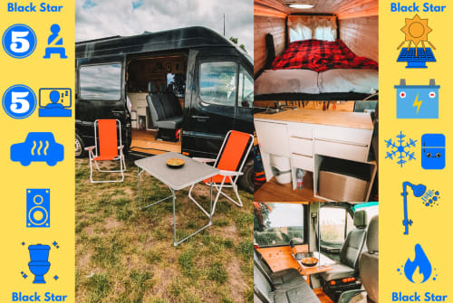 Hire a motorhome in Bremen from private owners| Mercedes Black Star