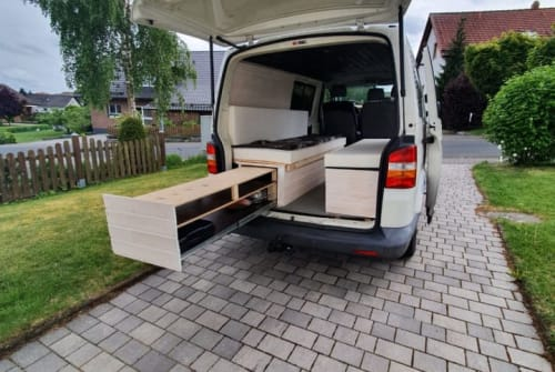 Hire a motorhome in Herborn from private owners| VW Bert der Camper