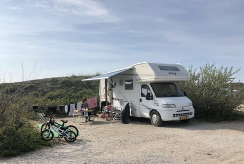 Hire a motorhome in Eindhoven from private owners  Fiat Elnagh Joxy Joy