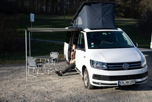 Hire a motorhome in Konstanz from private owners| VW Calli