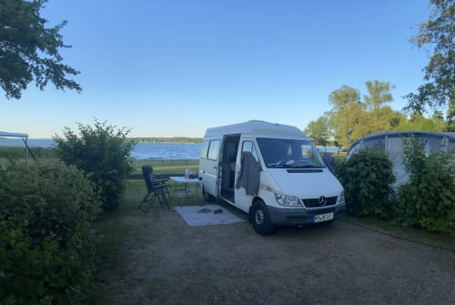 Hire a motorhome in Haselbachtal from private owners  Mercedes Benz  Hugo