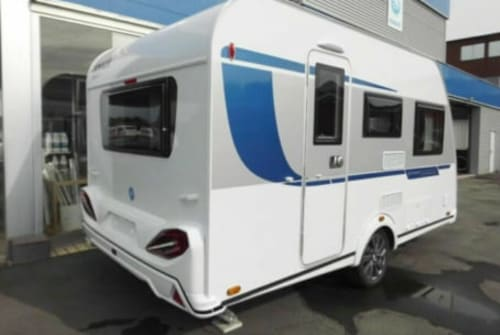 Hire a motorhome in Engelskirchen from private owners  Knaus Sport  Leo