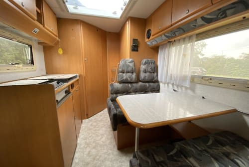 Hire a motorhome in Mannheim from private owners| Fiat Campi
