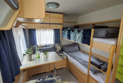 Hire a motorhome in Nürtingen from private owners  Knaus Eifelland Sunshine