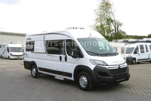 Hire a motorhome in Marienheide from private owners| Pössl Roadcruiser