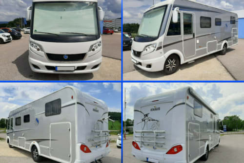Hire a motorhome in Kernen im Remstal from private owners  Knaus Anton