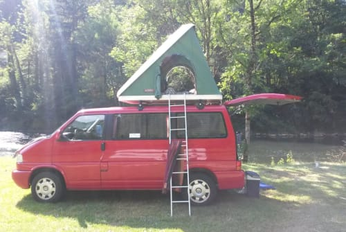 Hire a motorhome in Waddeweitz from private owners  VW Tante Renate