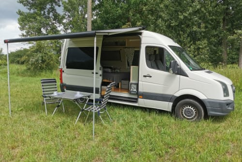 Hire a motorhome in Rattelsdorf from private owners| VW Crafter Crafti