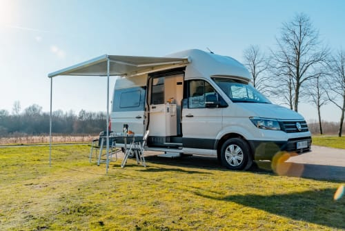 Hire a motorhome in Recklinghausen from private owners| Volkswagen Otter-Mobil #1