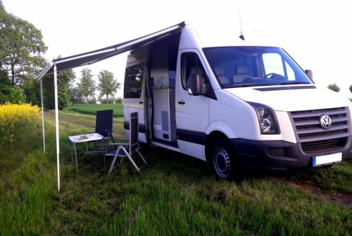 Hire a motorhome in Herzberg (Elster) from private owners| VW  Buddy