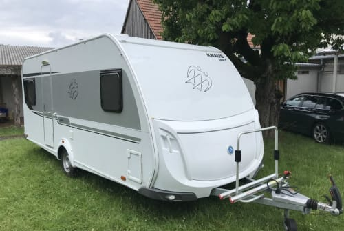 Hire a motorhome in Amberg from private owners| Knaus Franzl