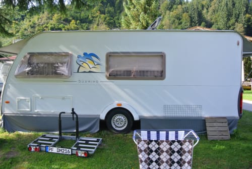 Hire a motorhome in Mühlacker from private owners| Knaus Wohni Knaus Südwind