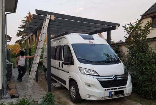 Hire a motorhome in Leipzig from private owners  Adria Das Mobil