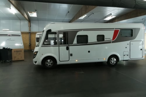 Hire a motorhome in Wadersloh from private owners  Bürstner  Bursti