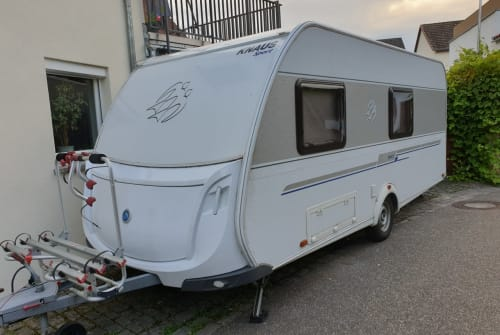 Hire a motorhome in Margetshöchheim from private owners  Knaus  Ben GROß