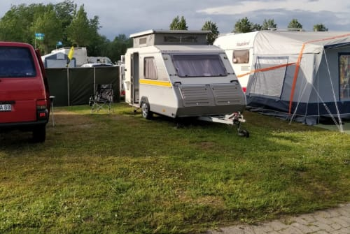 Hire a motorhome in Friedeburg from private owners| KIP Hubi