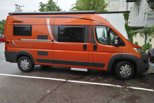 Hire a motorhome in Bad Reichenhall from private owners  Pössl T(w)o WIN