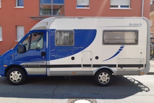 Hire a motorhome in Waiblingen from private owners  Fiat 2.3 l Diesel Dethlef