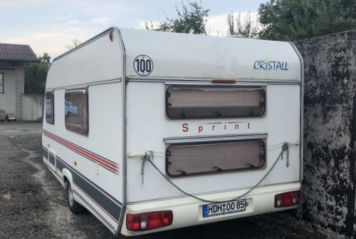 Hire a motorhome in Heidenheim an der Brenz from private owners| Cristall Bohni