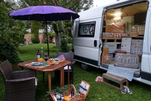 Hire a motorhome in Karlsfeld from private owners| Citroen  Woodstock