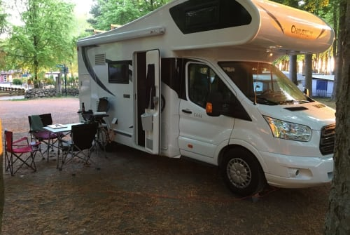 Hire a motorhome in Rostock from private owners  Chausson Wobby